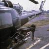 UH-1C with miniguns and 14  2.75in rockets.
