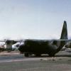 "C -130  ""Herky Bird"" Fixed-wing work horse of the war. Upgraded many times and still a work horse."